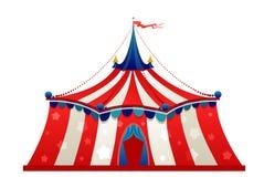 De tent van de circusmarkttent Stock Afbeeldingen