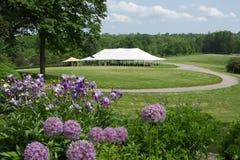 De Tent van de gebeurtenis Stock Fotografie