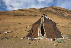 De tent van de nomade Royalty-vrije Stock Afbeeldingen