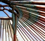 De tent van de nomade royalty-vrije stock foto