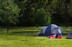 De tent van de picknick Stock Fotografie