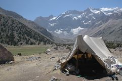 De tent van Herder Royalty-vrije Stock Foto's