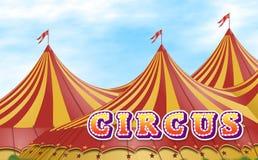 De Tent van het circus Stock Afbeelding