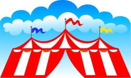 De Tent van het circus/eps Stock Afbeelding