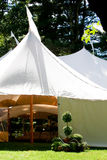 De tent van het huwelijk royalty-vrije stock fotografie