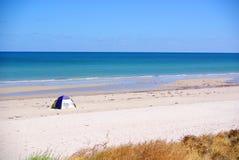 De Tent van het strand stock foto