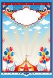 De tentachtergrond van het circus Stock Fotografie