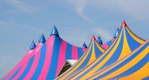 De Tenten van het circus royalty-vrije stock afbeeldingen