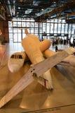 De tentoonstelling in het Centre Pompidou Stock Foto