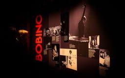 De tentoonstelling van Barbara in Philarmonie DE Parijs royalty-vrije stock afbeeldingen