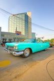 De tentoonstelling van de auto bij de Klassieke Auto van Boekarest toont Royalty-vrije Stock Foto's