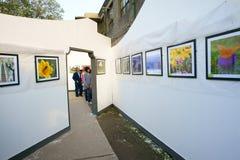 De tentoonstelling van de fotografie Royalty-vrije Stock Afbeelding
