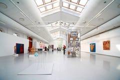 De Tentoonstelling van de Kunst van vrouwen in gebouw van Nieuwe Arena Royalty-vrije Stock Foto's