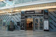De tentoonstelling van Europa 2012 van de luchtvaartelectronica Stock Afbeelding