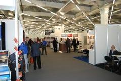De tentoonstelling van Europa 2012 van de luchtvaartelectronica Royalty-vrije Stock Fotografie
