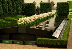 De tentoonstelling van Gent Floralies 2010, van de bloem en van de installatie Royalty-vrije Stock Foto's
