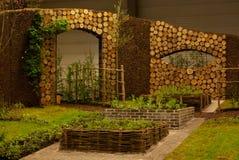 De tentoonstelling van Gent Floralies 2010, van de bloem en van de installatie Stock Foto