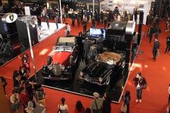De tentoonstelling van Shanghai Expo van Mercedes-Benz-luxe het leven klassieke auto's Stock Foto's