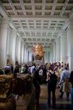 De tentoonstellingen van British Museum royalty-vrije stock foto's
