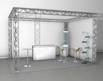De tentoonstellingstribune van de handel vector illustratie