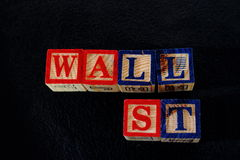 De termijn Wall Street Royalty-vrije Stock Fotografie