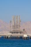 De terminal van de brandstof stock afbeelding
