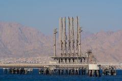 De terminal van de brandstof stock afbeeldingen