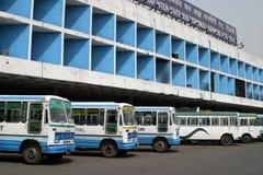 De terminal van de bus Stock Fotografie