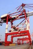 De terminal van de container Royalty-vrije Stock Afbeeldingen