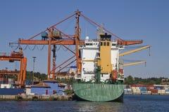 De Terminal van de container Royalty-vrije Stock Foto's