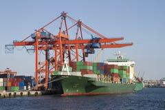 De Terminal van de container Royalty-vrije Stock Fotografie