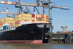 De terminal van de container Royalty-vrije Stock Afbeelding