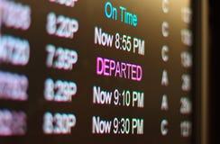 De terminal van de luchthaven Stock Foto's