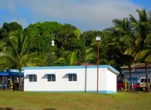 De terminal van de luchthaven bluefields, Nicaragua Stock Fotografie