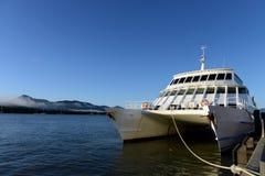De Terminal van de Vloot van de ertsader in Steenhopen royalty-vrije stock afbeeldingen