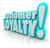 De Terugkeer van de klantenloyaliteit herhaalt Zaken Tevreden Cliënt Stock Foto