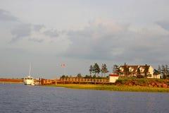 De Terugtocht van de kust Royalty-vrije Stock Foto