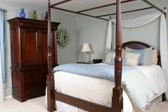 De Terugtocht van de slaapkamer Stock Foto
