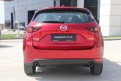 De test-aandrijving van tweede generatie restyled Mazda CX-5 oversteekplaats SUV Royalty-vrije Stock Afbeeldingen