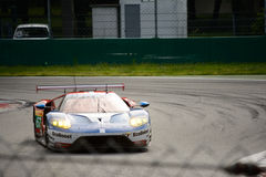 De test van Chip Ganassi Racing Ford GT in Monza Stock Foto's