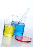 De test van het laboratorium stock afbeelding