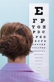 De test van het oog Stock Fotografie
