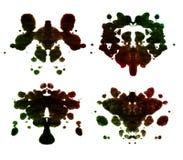 De test van Rorschach Royalty-vrije Stock Afbeeldingen