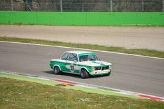 De test 2016 van Ti van BMW 2002 in Monza stock foto's