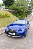 De testaandrijving van Lexus RC F 2014 Stock Afbeeldingen