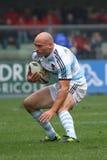De testgelijke 2010 van het rugby: Italië versus Argentinië (16-22) Stock Afbeelding