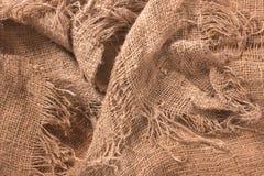 De textiel van de hennep Royalty-vrije Stock Afbeeldingen