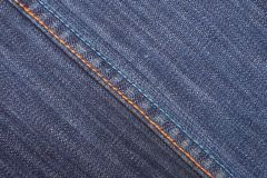 De textiel van jeans Royalty-vrije Stock Foto