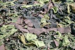 De textielcamouflage van het leger stock afbeelding