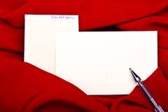 De textielgrens van de zijde om Witboek Royalty-vrije Stock Afbeeldingen